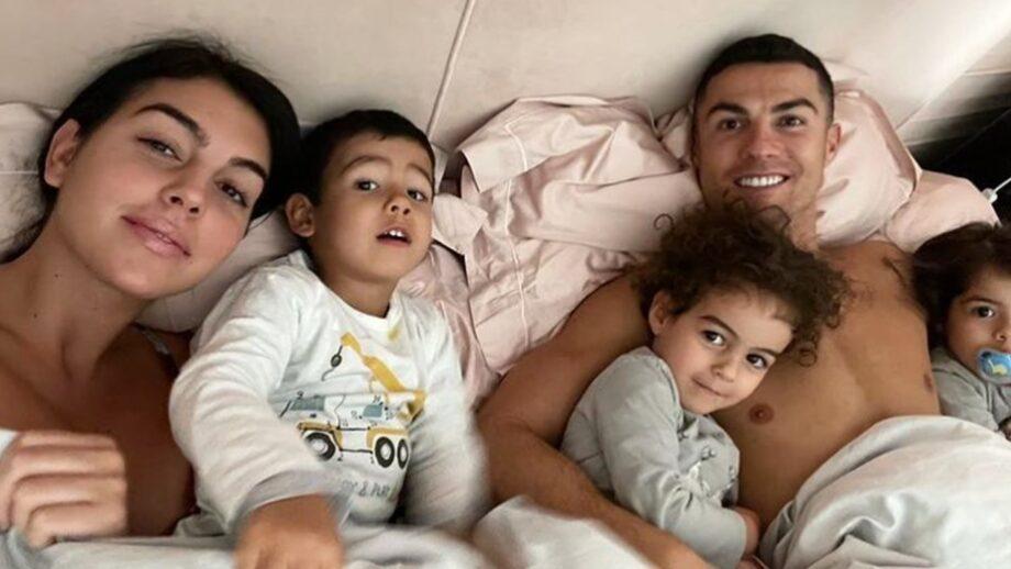 The Ronaldo family