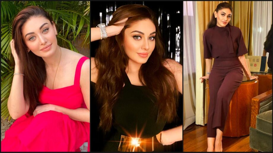 Solid Colour Outfits Of Beauty Shefali Jariwala: Which Look Did You Like? |  IWMBuzz