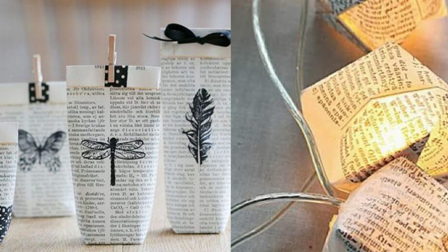 5 DIY Ideas To Make Something Beautiful Out Of Old Newspaper   IWMBuzz