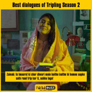 टी वी एफ ट्रिपलिंग: सीजन 2 के सर्वश्रेष्ठ डायलॉग 8