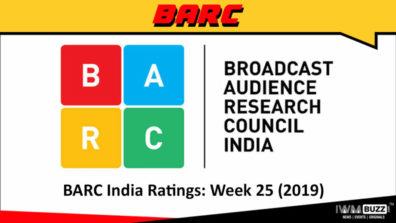 बी ए आर सी इंडिया रेटिंग: सप्ताह 25 (2019);  ये रिश्ता क्या कहलाता है ने शीर्ष 5 में प्रवेश किया