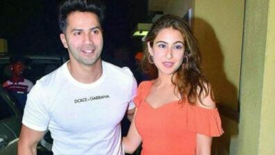 वरुण धवन और सारा अली खान ने एक दूसरे को 'कॉपी कैट' कहा 1