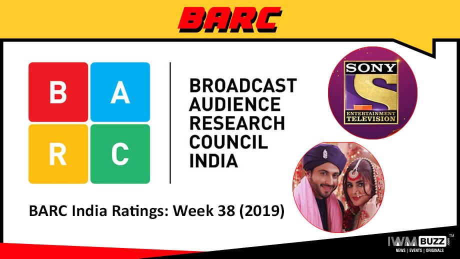 बी ए आर सी इंडिया रेटिंग: सप्ताह 38 (2019);  सोनी टीवी और कुंडली भाग्य शीर्ष पर