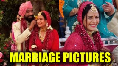 देखिए मोना सिंह की शादी की अनदेखी तस्वीरें