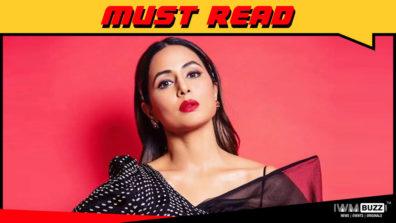 हिना खान ने थर्ड सेक्सिएस्ट वूमेन 2019 का खिताब पर प्रतिक्रिया दी