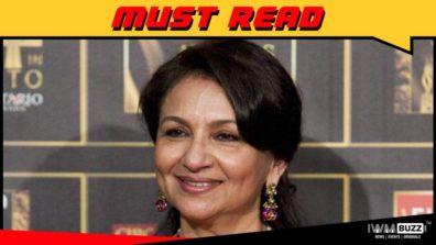 शर्मिला टैगोर जो 75 वें जन्मदिन पर सुभाष के झा से बात की