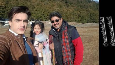 (वीडियो) मोहसिन खान और शिवांगी जोशी ने दी राजन शाही को जन्मदिन कि बधाई