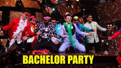 इंडियन आइडल 11: आदित्य नारायण की शानदार बेचलर  पार्टी