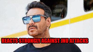 जेएनयू रो: अजय देवगन ने हमले के खिलाफ दी प्रतिक्रिया