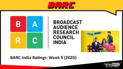 बीएआरसी इंडियन रेटिंग: सप्ताह 5 (2020); कुंडली भाग्य सबसे ऊपर है