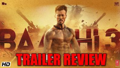 """बाघी 3 का ट्रेलर रिव्यू: यह """"घायल"""" फिल्म के सीक्वेल की तरह लग रहा है"""