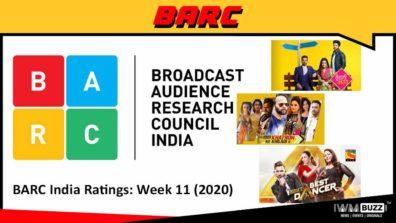 बी ए आर सी इंडिया रेटिंग: सप्ताह 11 (2020); कुंडली भाग्य, फीयर फैक्टर – खतरों के खिलाड़ी और इंडियाज बेस्ट डांसर टॉप 3 पर